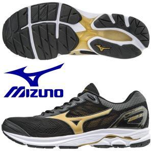 ミズノ MIZUNO/メンズ マラソン ランニングシューズ/ウエーブライダー 21 / WAVE R...