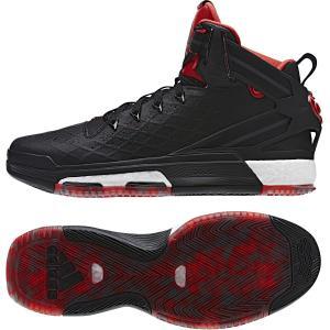アディダス バスケットボールシューズ D Rose 6 BOOST/デリック ローズ 6 ブースト/コアブラック×スカーレット×ゴールドオークル F15/ S84944|kokkidozao
