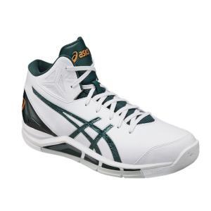 ASICS アシックス バスケットボールシューズ ゲルトライフォース 2/GEL TRYFORCE 2/TBF325 0184/ホワイト×ダークグリーン|kokkidozao