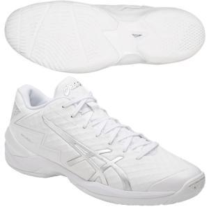 アシックス/バスケットボールシューズ/ゲルバースト 21 Z/GELBURST 21 Z/TBF338 0193/カラー:ホワイト×シルバー|kokkidozao