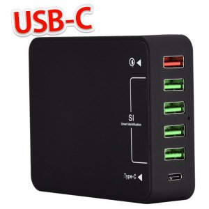 急速 Aukey Qualcomm Quick Charge 3.0 スマホ充電器 USB充電器 コ...