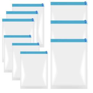 衣類圧縮袋 手巻き 真空 布団収納袋 12枚組 圧縮バッグ 掃除機不要 収納 密封 リムーブエアー ...