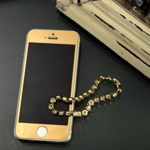 iPhone5 iPhone SE ガラス保護フィルム ゴー...