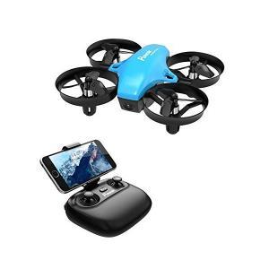 Potensic ドローン 高度保持 HD空撮カメラ WiFiリアタイム ヘッドレスモード 2.4G...