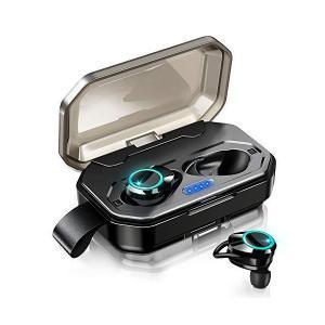 【2019最新版 Bluetooth 5.0 120時間連続駆動】 Bluetooth イヤホン IPX7完全防水 ワイヤレスイヤホン 両耳通話 S kokona0221