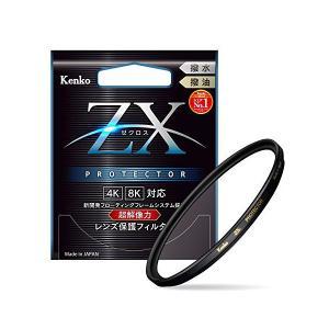 Kenko レンズフィルター ZX プロテクター 77mm レンズ保護用 撥水・撥油コーティング フ...