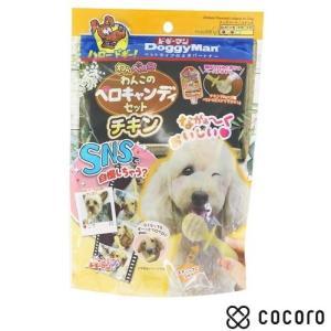 訳あり 在庫処分 ドギーマン わんペロロ わんこのペロキャンディセット チキン 犬 おやつ ◆賞味期限 2020年1月|kokoro-kokoro