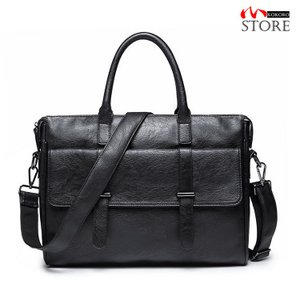 ビジネスバッグ メンズ 2WAY バッグ ショルダーバッグ PUレザー ブリーフケース カバン 鞄 ノートPCポケット 大容量 A4 通勤 kokoro1090