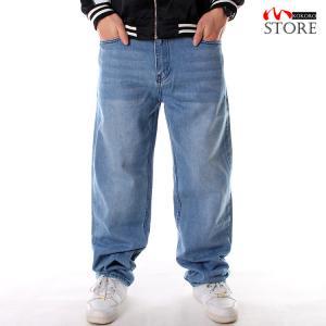 ジーンズ メンズ ワイド バギーパンツ デニムパンツ ロング丈 ボトムス ワイドパンツ 大きいサイズ きれいめ ストリート|kokoro1090