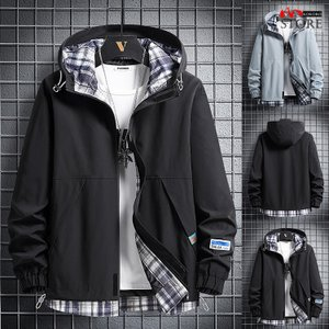 マウンテンパーカー メンズ ジャケット マウンパ フードジャケット アウトドアウェア ライトアウター 2021 秋冬 新作|kokoro1090