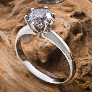 VS プラチナPt900|1.2ctダイヤリング|指輪|15号(鑑別書付き)|kokoroes