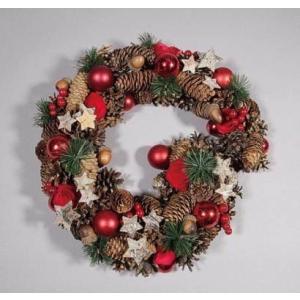 クリスマスリース ナチュラル  41202|kokoroes