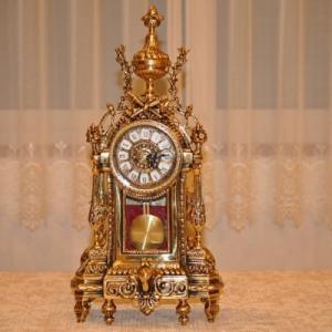 スペイン製 真鍮 ブラス 置き時計  ペンダント 振り子|kokoroes
