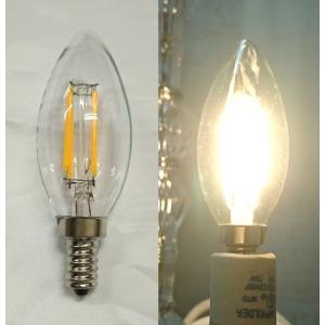 シャンデリア用 LED電球 シャンデリア電球型 口金E-12 白熱電球30W相当|kokoroes
