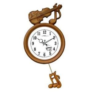 GB2051バイオリン掛け時計/電波時計