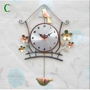 flower鳥の巣(小) 掛け時計/電波時計