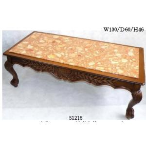 イタリア製 大理石センターテーブル  W130|kokoroes