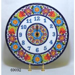 【スペイン製】セヴィリアの壁時計(イーゼル付き)