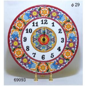 【スペイン製】セヴィリアの壁時計(クエルダ・セカ)
