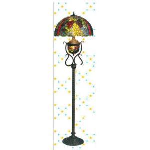 フロアーランプ ステンドグラス H160  LED対応 お姫様 姫系 ロマンチック ロマンティック