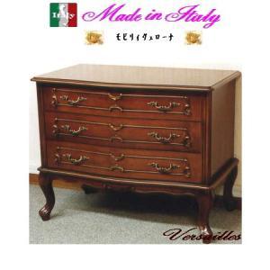 イタリア製3段チェスト 家具収納家具 送料無料 お姫様 姫系 ロマンチック ロマンティック|kokoroes