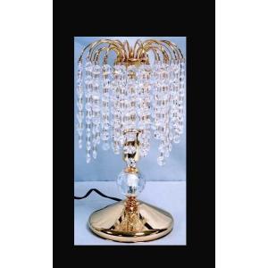 テーブルランプ ハイクラス エジプトの本クリスタル仕様 卓上ランプ お姫様 姫系 ロマンチック ロマンティック