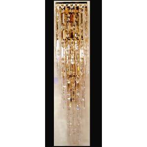 ブラケットシャンデリア クリスタルウォールランプ6灯 ハイクラス 高級壁掛け照明LED対応|kokoroes