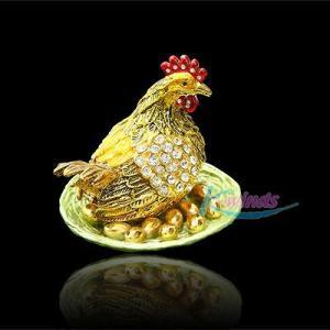 キラキラアクセサリーケース (金鶏)|kokoroes