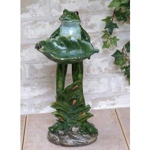 ガーデンシリーズ カエル置物|kokoroes