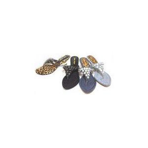 ダイヤストーン飾りがたくさん付いたトングサンダル kokoroes