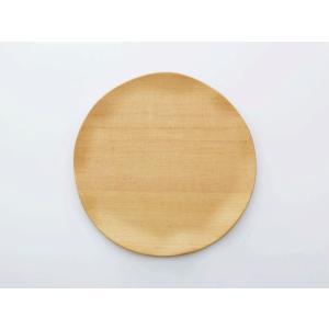 木製ラウンド皿