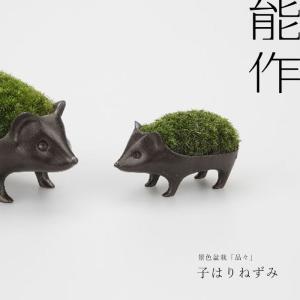 子はりねずみの苔盆栽  ■サイズ:高さ60 × 幅80 × 奥行40(mm) ■重さ:177g ■デ...