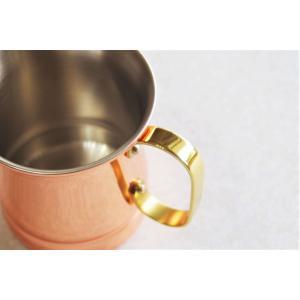 純銅製ビアマグ  16oz (460ml)  新光金属 銅 燕市 国産 銅製品 酒器 アイスコーヒー グラス マグカップ|kokoshoku|08