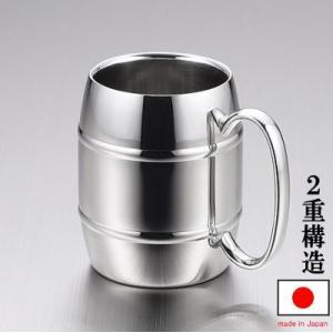 マグカップ 保温 保冷 ステンレス   日本製 Reveレーブ 2重構造タルマグカップ 満水容量:約270cc 2重構造/シンプル/おしゃれ/北欧/マグ/タルマグ/コップ/