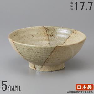 そば どんぶり 日本製   5枚組  ふる里新型丼ぶり5.8...