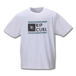 大きいサイズ メンズ RIP CURLUNDERDRIVE SPACEY半袖Tシャツ キングサイズ ...