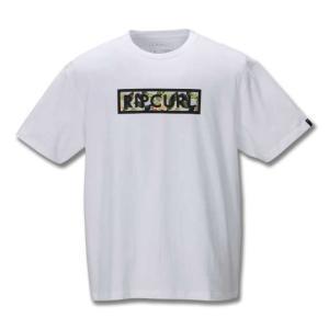大きいサイズ メンズ RIP CURLBARBOSA BOX半袖Tシャツ キングサイズ メンズ 3L...