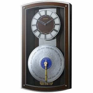 [文字入れ・名入れOK] 際立つ高級感あるハイグレード・クロック 美しい音色のディスクオルゴール RHYTHM/リズム 電波時計 【プライムオルガニートN】|kokuga-shop