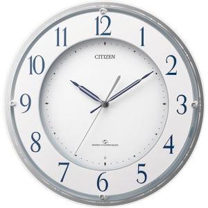 [文字入れ・名入れOK] 3電波受信の高性能電波時計 環境に考慮したグリーン購入法適合時計 CITIZEN/シチズン 電波時計 【4MY823-003】 [送料区分:B]|kokuga-shop