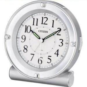 [文字入れ・名入れOK] コチコチ音のない連続秒針のめざまし時計 CITIZEN/シチズン クォーツ時計/目覚まし時計 【セリアRA18】[送料区分:A]|kokuga-shop