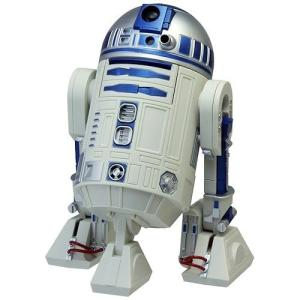 R2-D2がアラーム時にはおなじみの音楽と共に動きます RHYTHM/リズム クォーツ時計/目覚まし時計 【スターウォーズ/R2-D2】[送料区分:B]|kokuga-shop