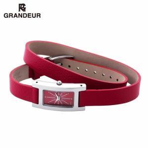 ファッションコーディネイトに合わせられるレディースウォッチ 2重巻きベルトでおしゃれ度アップ ギフトにも人気 【GRANDEUR/グランドール】|kokuga-shop