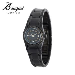 ファッションコーディネイトに合わせられるレディースウォッチ ブレスレット感覚で使える腕時計 ギフトにも人気 【LOV-IN Bouquet/ラヴィン・ブーケ】|kokuga-shop