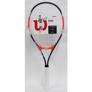 Wilson(ウィルソン) 硬式テニスラケットFUSION XL(フュージョン) WRT3207002 張り上がり 1本|kokusai-shop