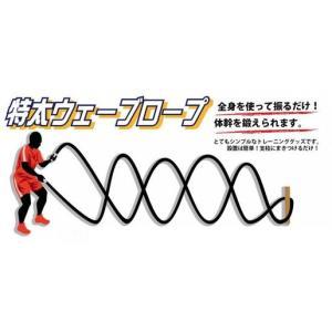 特太ウェーブロープ 直径30mm 10-916|kokusai-shop
