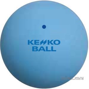 軟式テニス ボール トレーニング カラーボール 練習用 ナガセケンコー ケンコーソフトテニスボール スタンダード ブルー|kokusai-shop