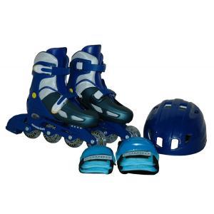 インラインスケート コンボセット ジュニア用 アジャスタブルタイプ CA475 18cm〜23cm