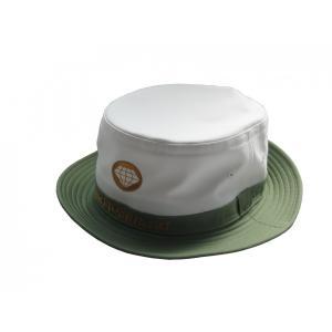 ワールドダイヤモンド(WorldDiamond) メンズ帽子 ハット OH06 ホワイト/グリーン|kokusai-shop