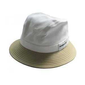 ワールドダイヤモンド(WorldDiamond) レディース帽子 ハット LH60 ホワイト/オリーブ|kokusai-shop
