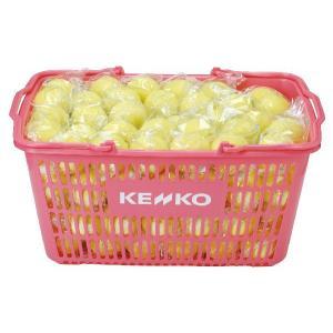 ソフトテニス 軟式テニスボール 公認球 ケンコー イエロー かご入り 10ダース TSOYK 送料無料|kokusai-shop